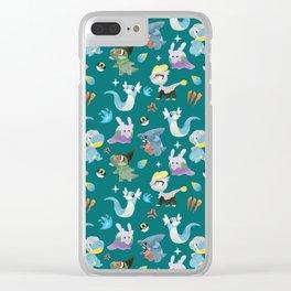 Dragon Dance Clear iPhone Case