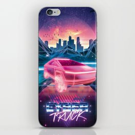 Cybertruck - Maximum Outrun iPhone Skin