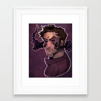 starlord Framed Art Prints featuring Starlord by Livvy