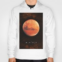mars Hoodies featuring MARS by Alexander Pohl