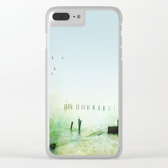 At Sea Clear iPhone Case