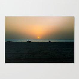 """""""SURF WALK"""" kitesurf . kite . surf Canvas Print"""