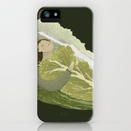 Bed of Lettuce iPhone Case
