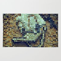 donald duck Area & Throw Rugs featuring Donald Duck by DisPrints