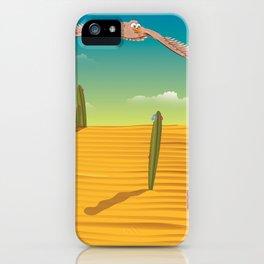 Eagle soaring high iPhone Case