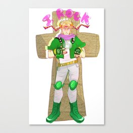 Caesar Zeppeli Rocks!!!1!! Canvas Print