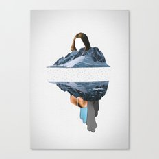 The Pace Is Glacial Canvas Print