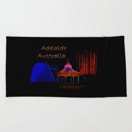 Electrified Adelaide Beach Towel