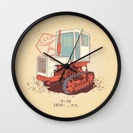 Т 70 Wall Clock
