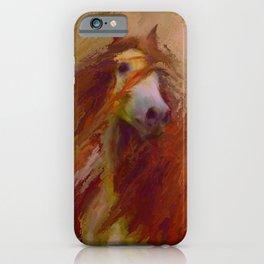 Caliente - Friesian horse - Gypsy Vanner iPhone Case