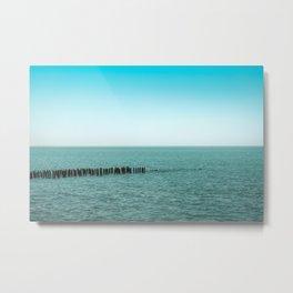Nature photo - horizon Metal Print