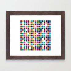 Mondrian is back! Framed Art Print