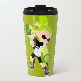 Inkling Boy (Green) - Splatoon Travel Mug