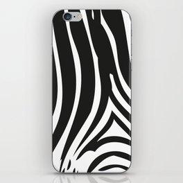 Zebra Stripes | Animal Print | Black and White | iPhone Skin