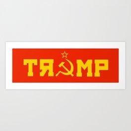 Comrade Trump Art Print