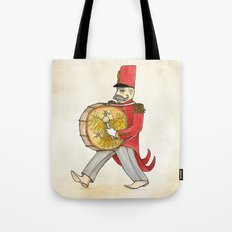 López, bass drum Tote Bag