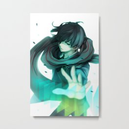Mirai Kuriyama Metal Print