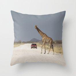 Giraffe 10 Throw Pillow