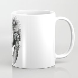 Elephant face Coffee Mug