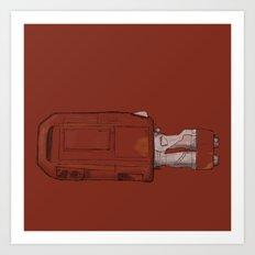 Rey's Speeder Art Print