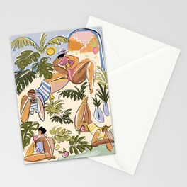 Summer sketches no.1 Stationery Cards