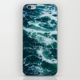 The Water Waves (Color) iPhone Skin