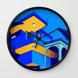 Jardin Majorelle Wall Clock