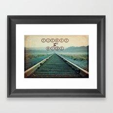 Ticket to Ride Framed Art Print