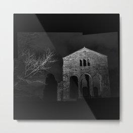 Santa María del Naranco Metal Print