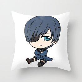 Ciel Chibi Throw Pillow