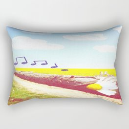 Sunshine & Melody Rectangular Pillow
