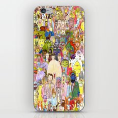 The Fuzzy Crowd iPhone & iPod Skin