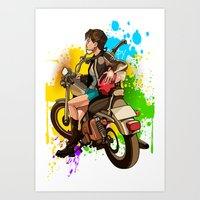 silent Art Prints featuring Silent by Don Kuing