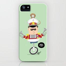 Captain Pizzazz iPhone Case