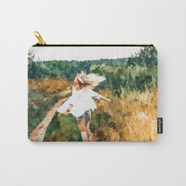 Free Spirit || #painting #nature Carry-All Pouch