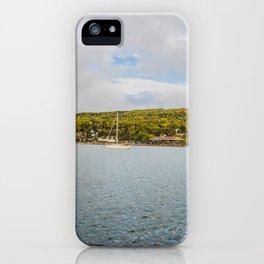 Harbor, Grand Marais, Minnesota 1 iPhone Case