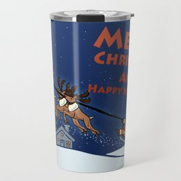 Whim Santa Christmas Day Travel Mug