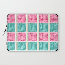 Blue and Pink Laptop Sleeve