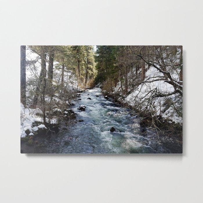 Burney Creek Metal Print