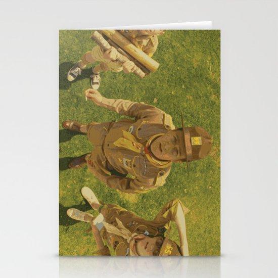Moonrise Kingdom Edward Norton Stationery Cards