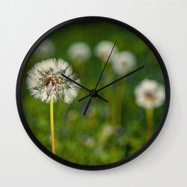 the lawn Wall Clock