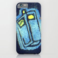 Doctor Who: Abstract Tardis Starfield iPhone 6s Slim Case