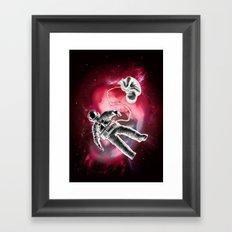 Illusion Framed Art Print