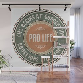Pro Life Wall Mural