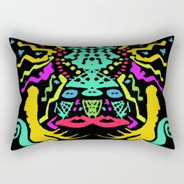 painting remix Rectangular Pillow