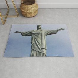 Jesus Christ, Rio De Janeiro Rug