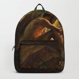 Christoffer Wilhelm Eckersberg - Ulysses Fleeing the Cave of Polyphemus - Digital Remastered Edition Backpack