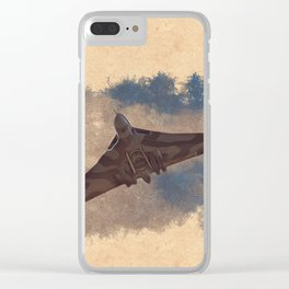 Vulcan Bomber Clear iPhone Case