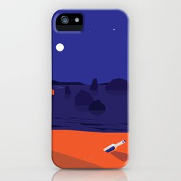 Message in a Bottle (S.O.S) iPhone Case