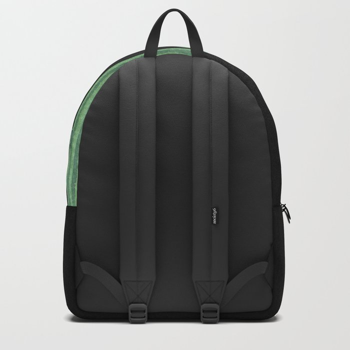 Classic Cactus Black Backpack